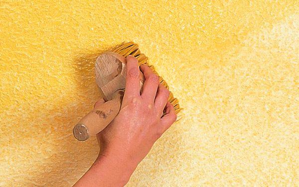 Декоративная штукатурка своими руками подготовка стен 68