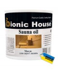 BIONIC HOUSE SAUNA OIL (БИОНИК ХАУЗ САУНА ОИЛ) 0.8л