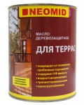 Масло для террас Neomid