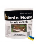 BIONIC HOUSE FACADE VARNISH (БИОНИК ХАУЗ ФАСАД ВАРНИШ) 0.8л