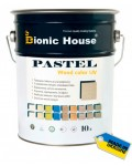 BIONIC HOUSE PASTEL WOOD COLOR (БИОНИК ХАУС ПАСТЕЛЬ ВУД КОЛОР) 10л