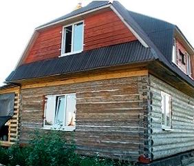 Дом до реставрации