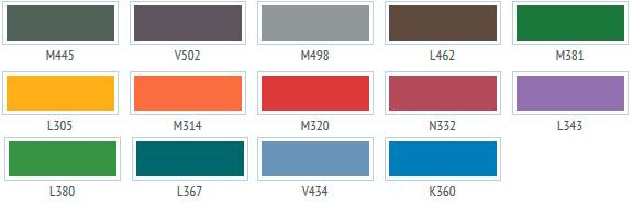 Грифельная краска Тиккурила - Популярные цвета