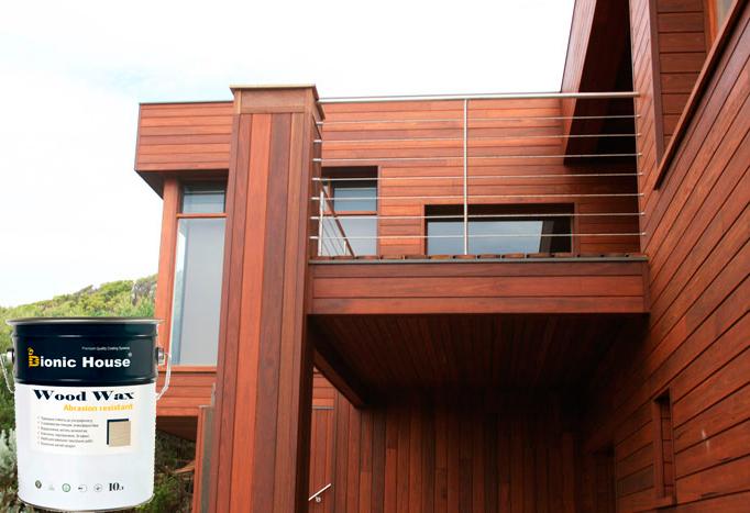 BIONIC HOUSE WOOD WAX краска для деревянного фасада