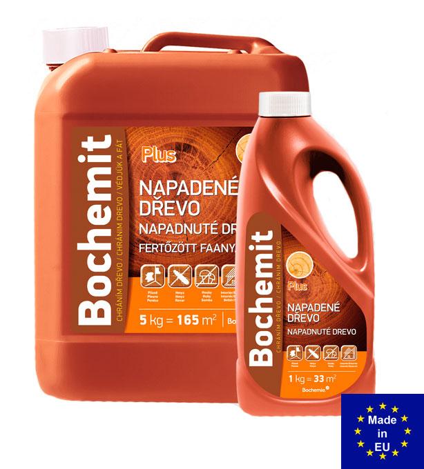 Bochemit Plus - средство для борьбы с шашелем, жуками-древоточцами, который уже завелся. Купить в Киеве, лучшая цена в Украине