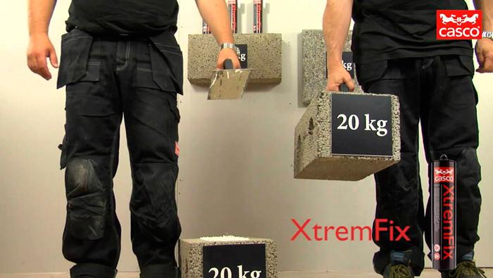 CASCO XTREMFIX клей мгновенного склеивания
