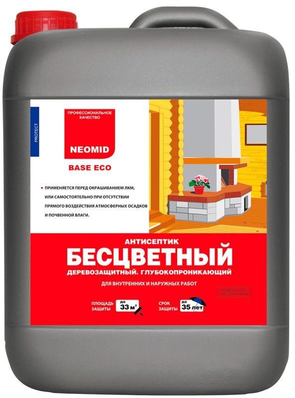Neomid Base Eco - глубокопроникающий консервирующий антисептик для древесины, купить в Киеве, лучшая цена в Украине
