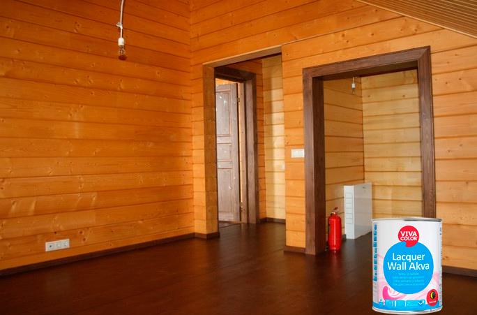 Лак для деревянных стен и потолка VIVACOLOR LACQUER WALL AQUA
