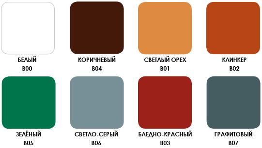 краска по бетону цвета